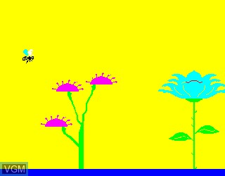 In-game screen of the game L'Abeille on Philips VG5000