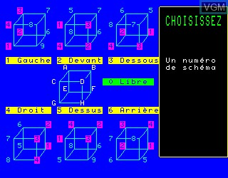In-game screen of the game Lire Vite et Bien on Philips VG5000