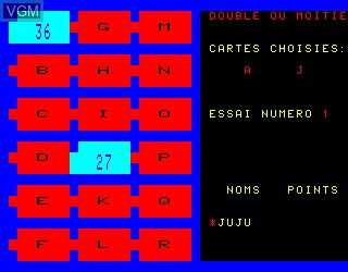 In-game screen of the game Complements et Multiples on Philips VG5000