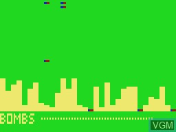In-game screen of the game Airstrip on VTech Laser-VZ 200