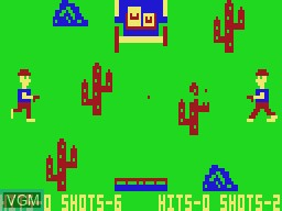 In-game screen of the game Duel Part 2 on VTech Laser-VZ 200