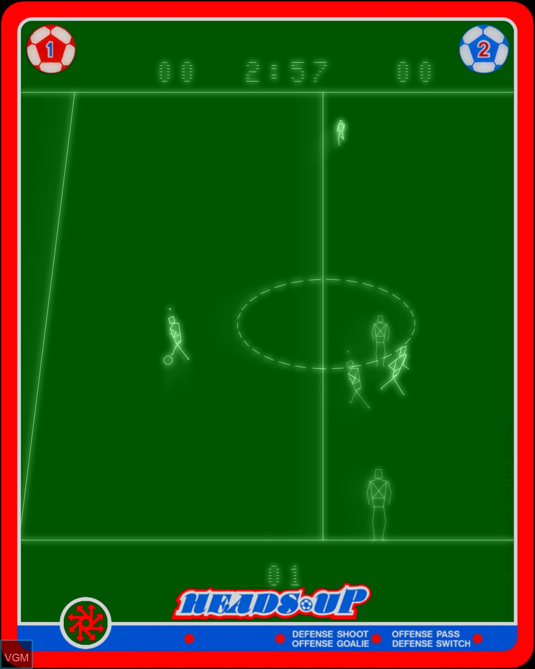 Heads Up - Action Soccer