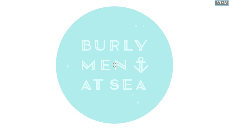 Title screen of the game Burly Men At Sea on Sony PS Vita