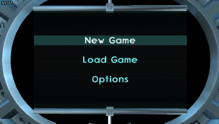 Menu screen of the game Jak II HD on Sony PS Vita