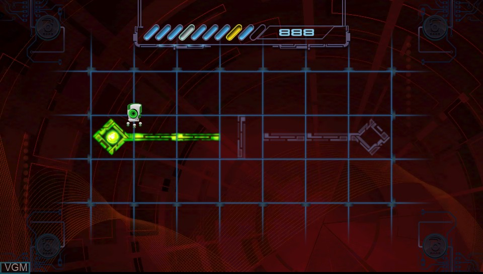 In-game screen of the game Virus Named TOM, A on Sony PS Vita