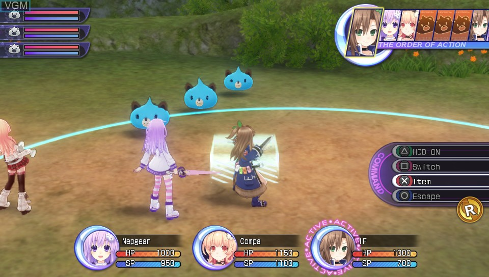 Hyperdimension Neptunia Re;Birth2 - Sisters Generation