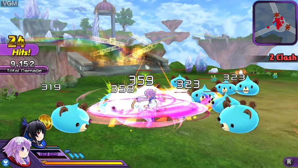 Hyperdimension Neptunia U - Action Unleashed