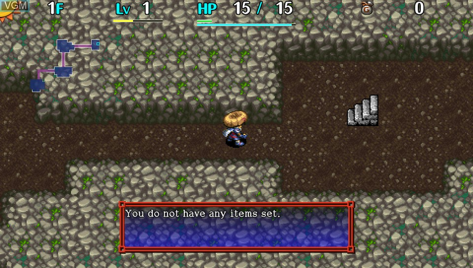 Shiren the Wanderer - The Tower of Fortune and the Dice of Fate