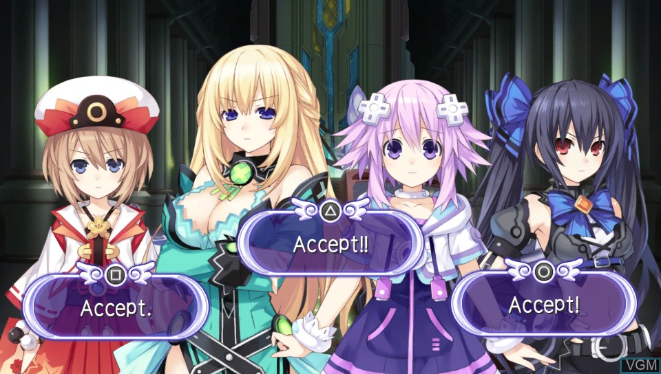Hyperdimension Neptunia PP - Producing Perfection