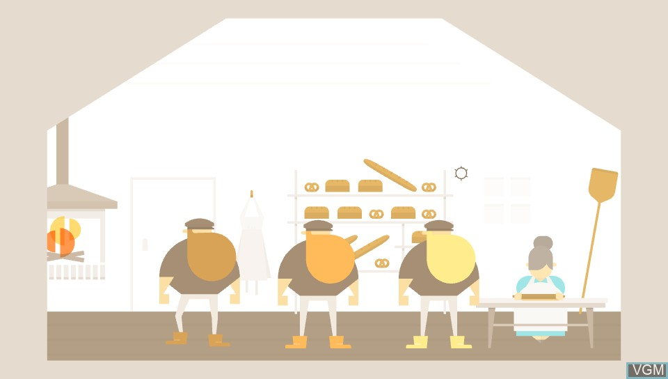 In-game screen of the game Burly Men At Sea on Sony PS Vita