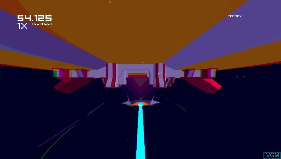 In-game screen of the game Futuridium EP Deluxe on Sony PS Vita