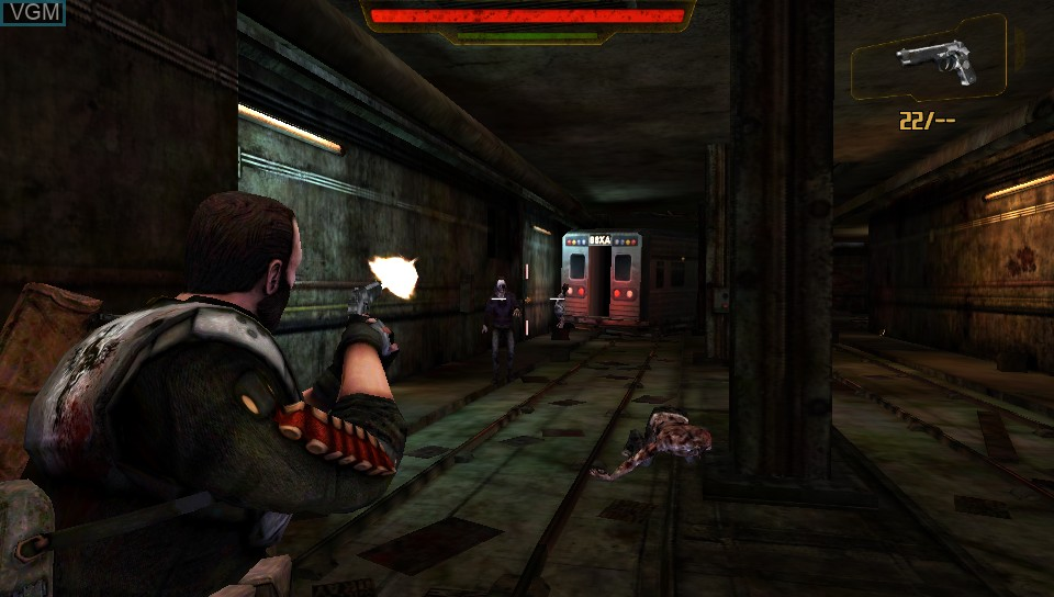 In-game screen of the game 2013 - Infected Wars on Sony PS Vita