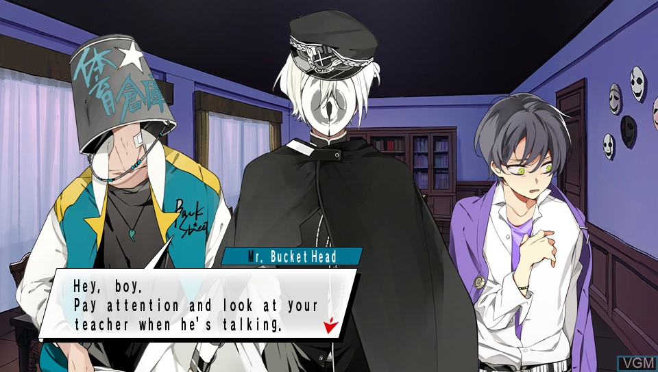 In-game screen of the game Bad Apple Wars on Sony PS Vita