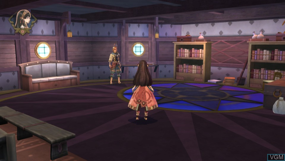 In-game screen of the game Atelier Shallie Plus - Alchemists of the Dusk Sea on Sony PS Vita