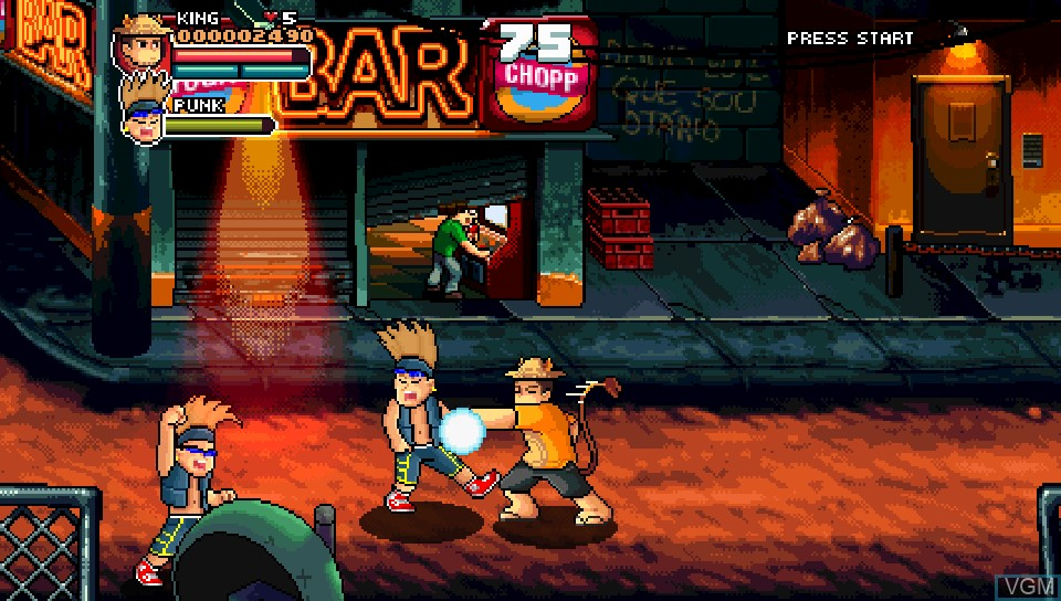 In-game screen of the game 99Vidas on Sony PS Vita