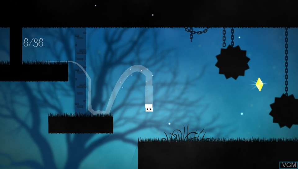 In-game screen of the game 36 Fragments of Midnight on Sony PS Vita