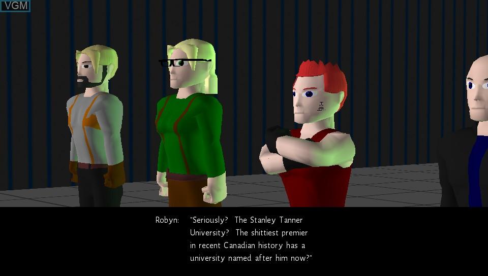 In-game screen of the game Skylight Freerange on Sony PS Vita
