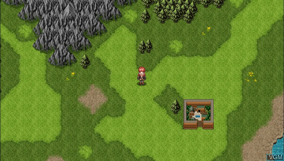 In-game screen of the game Antiquia Lost on Sony PS Vita