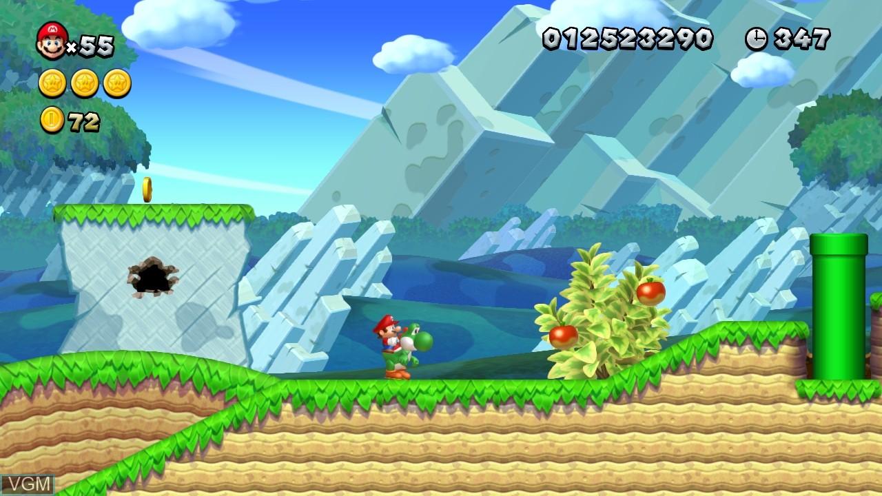 New Super Mario Bros  U for Nintendo Wii U - The Video Games