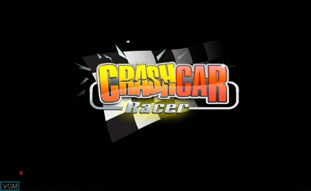 Title screen of the game Crash Car Racer on Nintendo Wii