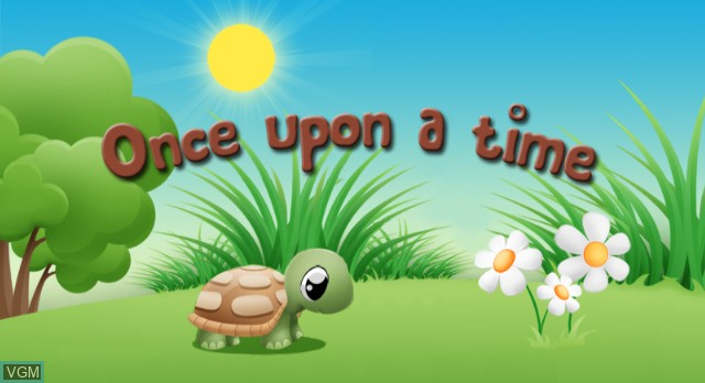 Title screen of the game Once Upon A Time on Nintendo Wii