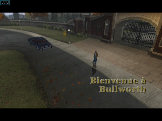 Menu screen of the game Bully - Scholarship Edition on Nintendo Wii
