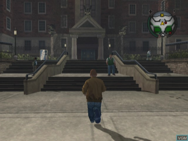 In-game screen of the game Bully - Scholarship Edition on Nintendo Wii