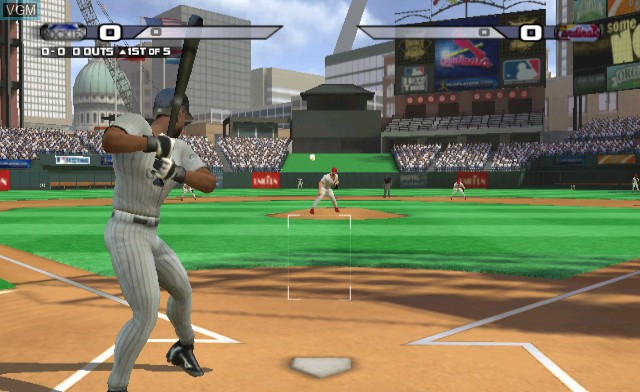 In-game screen of the game BIGS, The on Nintendo Wii