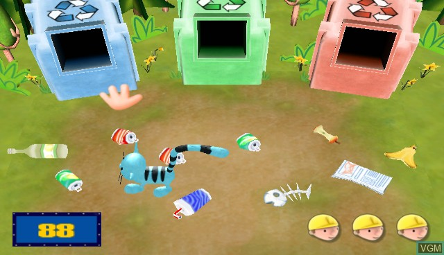 In-game screen of the game Bob the Builder - Festival of Fun on Nintendo Wii