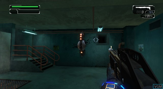 In-game screen of the game Conduit, The on Nintendo Wii
