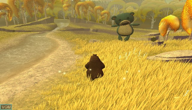 In-game screen of the game Open Season on Nintendo Wii