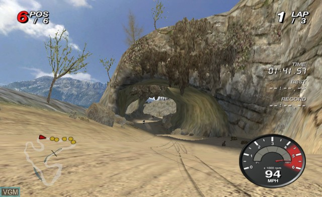 In-game screen of the game Off Road on Nintendo Wii