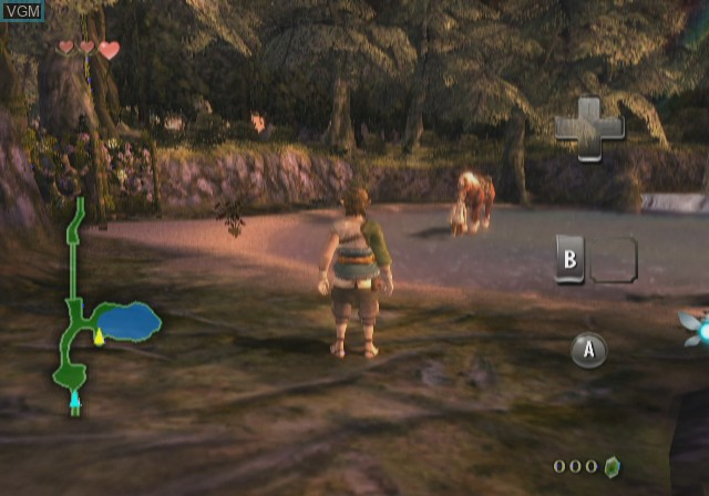 In-game screen of the game Legend of Zelda,The - Twilight Princess on Nintendo Wii