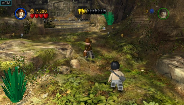 In-game screen of the game Lego Indiana Jones - The Original Adventures on Nintendo Wii