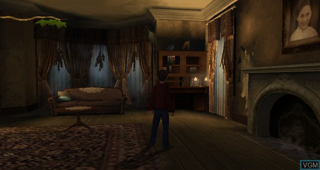 In-game screen of the game Spiderwick Chronicles, The on Nintendo Wii