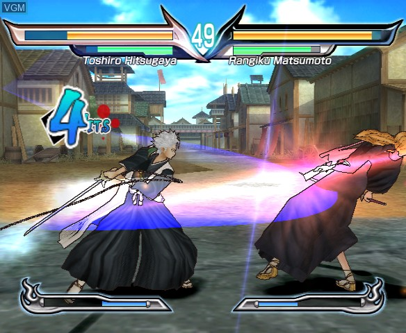 In-game screen of the game Bleach - Shattered Blade on Nintendo Wii