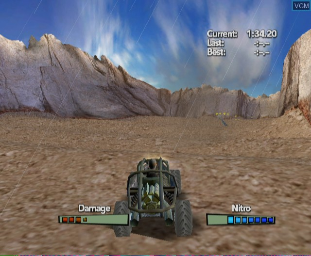 In-game screen of the game Offroad Extreme! Special Edition on Nintendo Wii