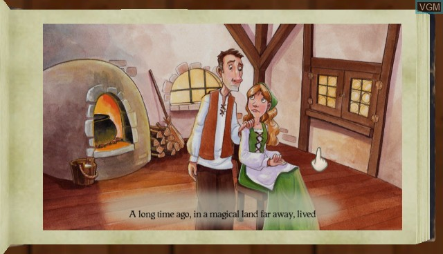 In-game screen of the game Story Hour - Fairy Tales on Nintendo Wii