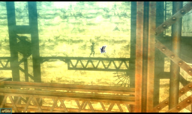 In-game screen of the game A Shadow's Tale on Nintendo Wii