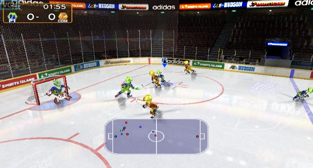 In-game screen of the game Sports Island 2 on Nintendo Wii