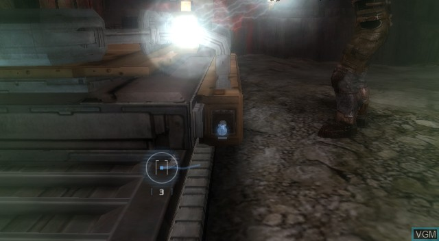 In-game screen of the game Dead Space - Extraction on Nintendo Wii