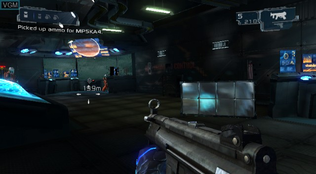 In-game screen of the game Conduit 2 on Nintendo Wii
