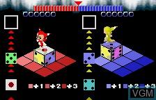 Menu screen of the game XI on Bandai WonderSwan
