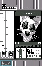 beat mania for WonderSwan