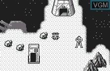 In-game screen of the game Chou Aniki - Otoko no Tamafuda on Bandai WonderSwan
