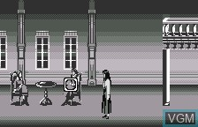 In-game screen of the game Clock Tower on Bandai WonderSwan