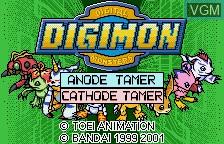 Digimon - Anode Tamer & Cathode Tamer - Veedramon Version