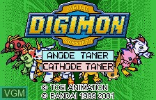 Digimon Digital Monsters - Anode & Cathode Tamer - Veedramon Version
