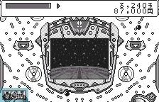 In-game screen of the game Fever - Sankyo Koushiki Pachinko Simulation for WonderSwan on Bandai WonderSwan