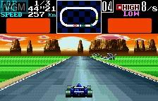 In-game screen of the game Final Lap Special - GT & Formula Machine on Bandai WonderSwan